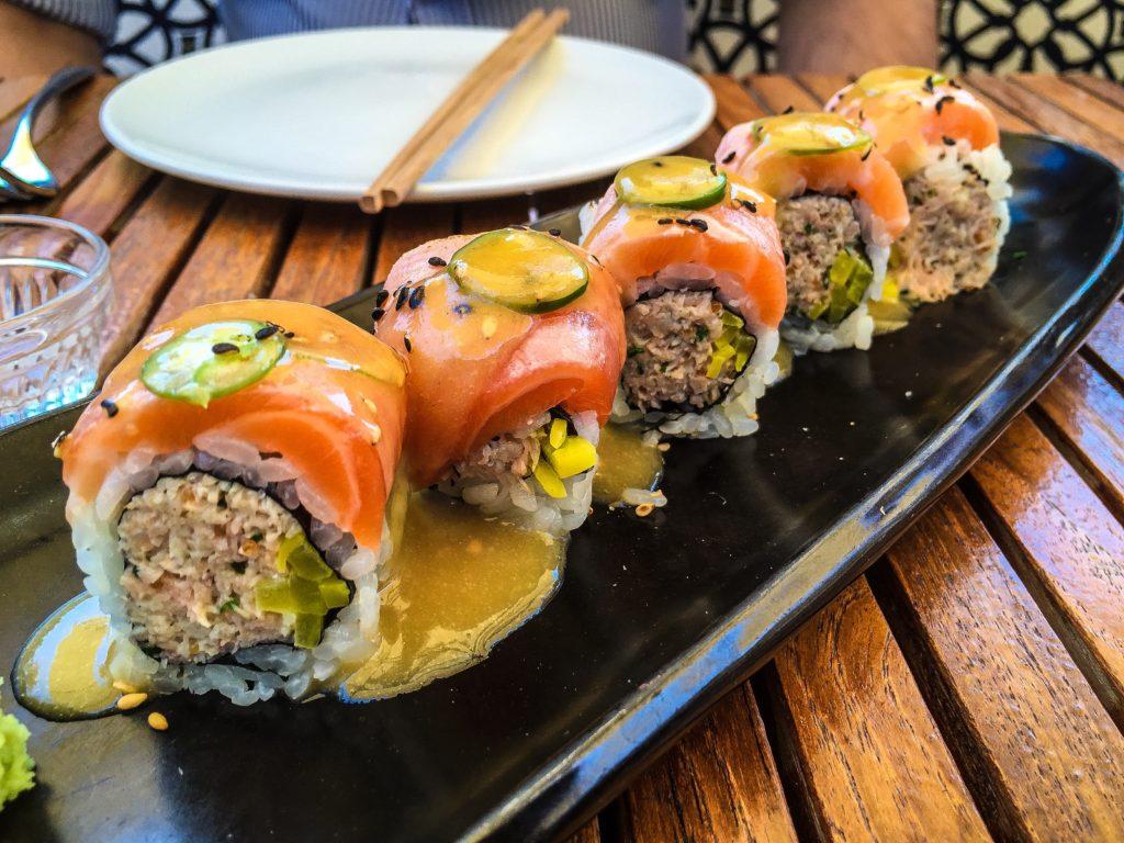 Catch Roll - Crab, Salmon, Miso-Honey - $19