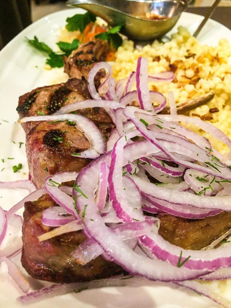 Grilled Lamb Chops $24.00