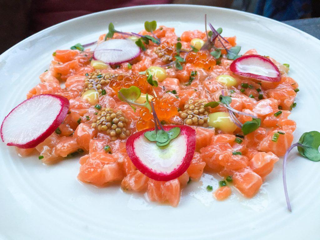 Salmon Tartare - $16