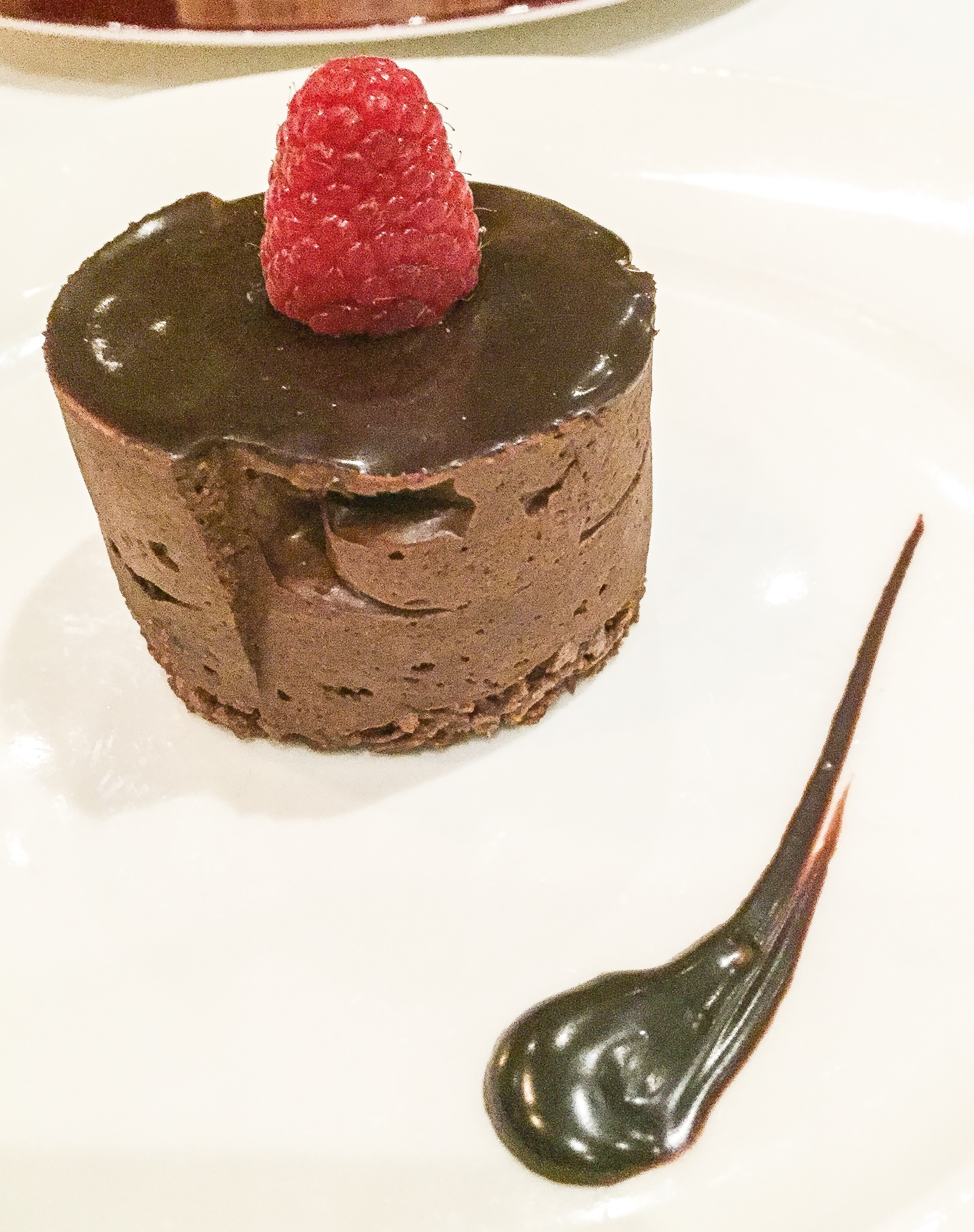 Dark Chocolate Mousse Cake Nyc