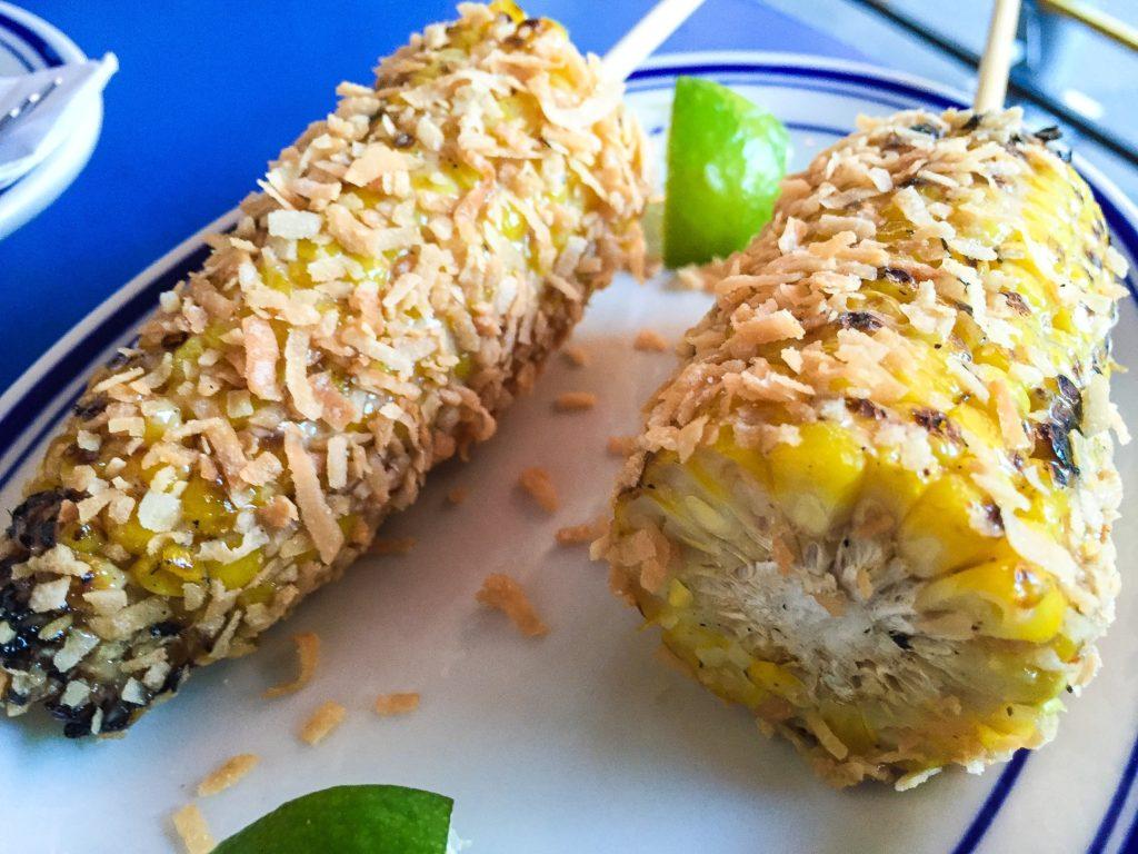 JERK CORN | $7 jerk mayo, toasted coconut
