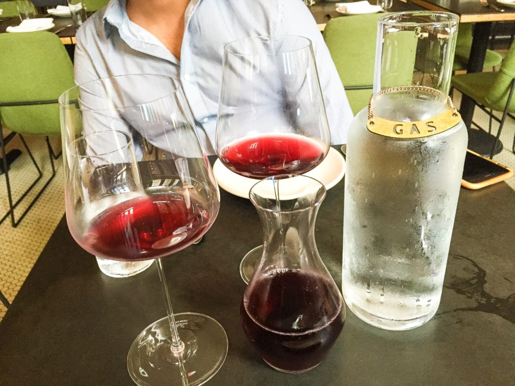 1/2 Bottle of Chilled Red Wine - $25