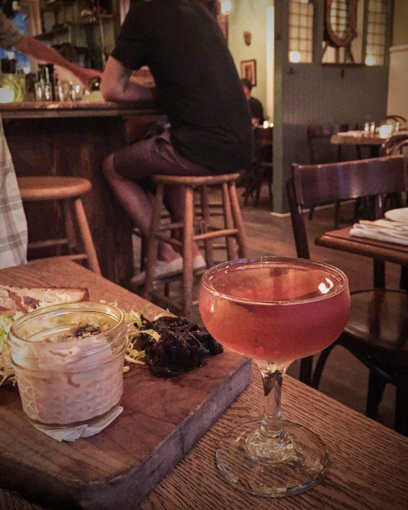 Vinegar Hill Rittenhouse Rye, Cocchi Vermouth, Dolin Genepy, hopped grapefruit bitters $13