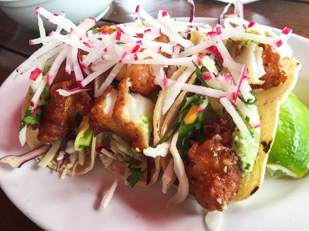 Baja Fish Tacos - Crispy Cod - $10