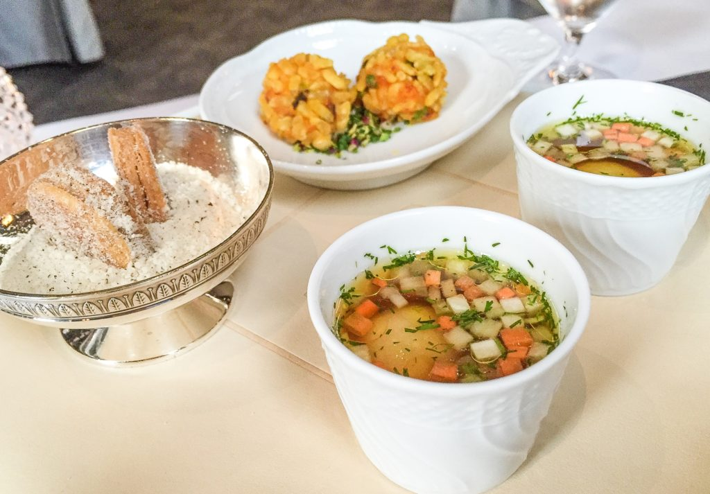 Complimentary Amuse Bouches -